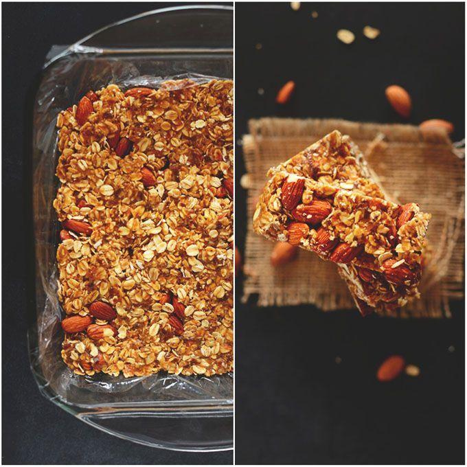 5 Ingredient Granola Bars | Minimalist Baker
