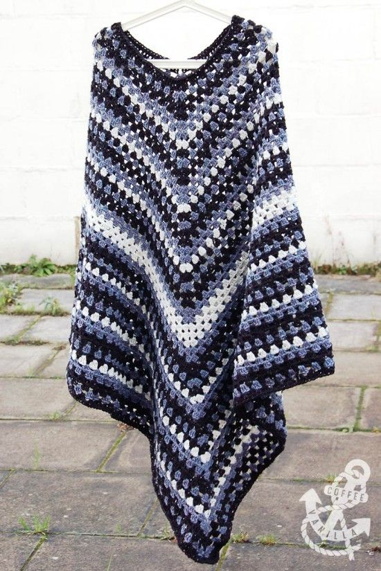 Free Crochet Pattern Ladies Poncho : 17 Best ideas about Crochet Poncho Patterns on Pinterest ...