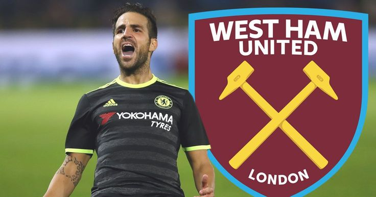 West Ham plot transfer of Chelsea's Chelsea Fabregas if he cannot nail down a starting place