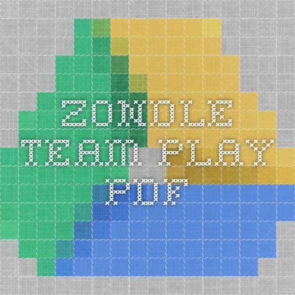 Zondle Team Play Pdf