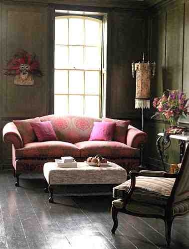 bohemian vintage gypsy living room