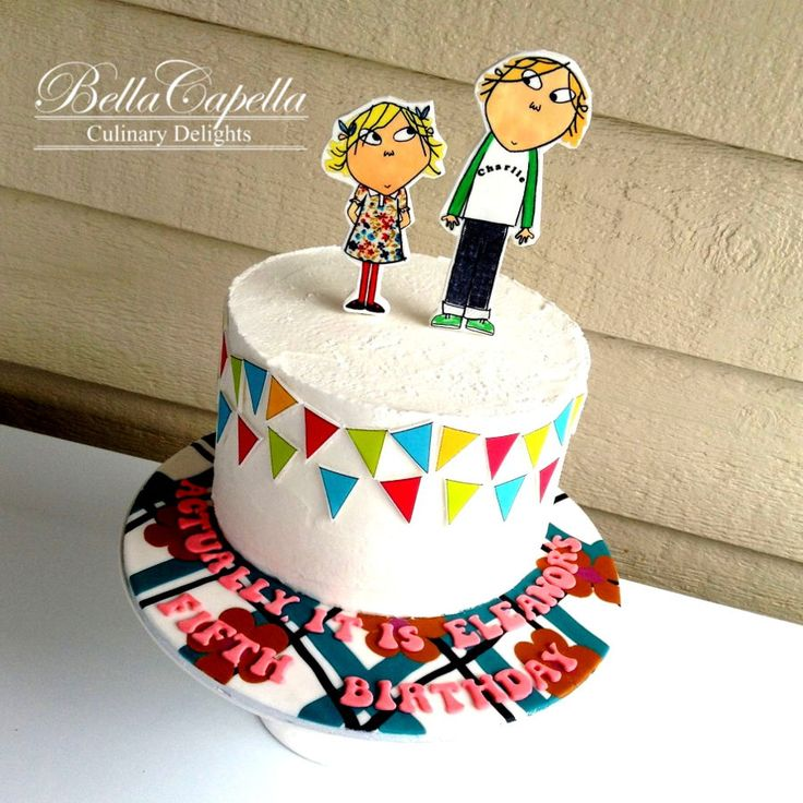 Charlie And Lola on Cake Central