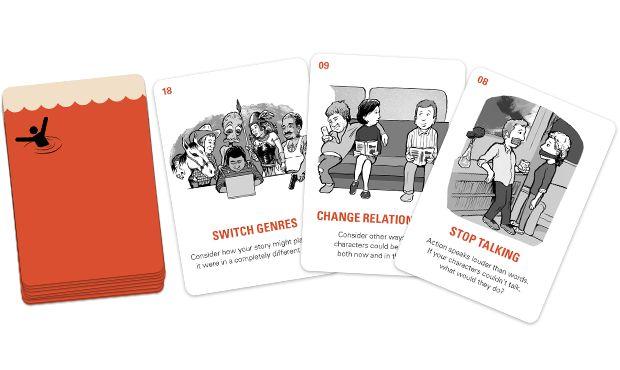 Writer Emergency Pack - helping writers get unstuck by John August — Kickstarter