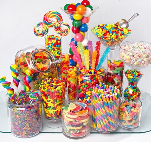 Para Candy multicolor