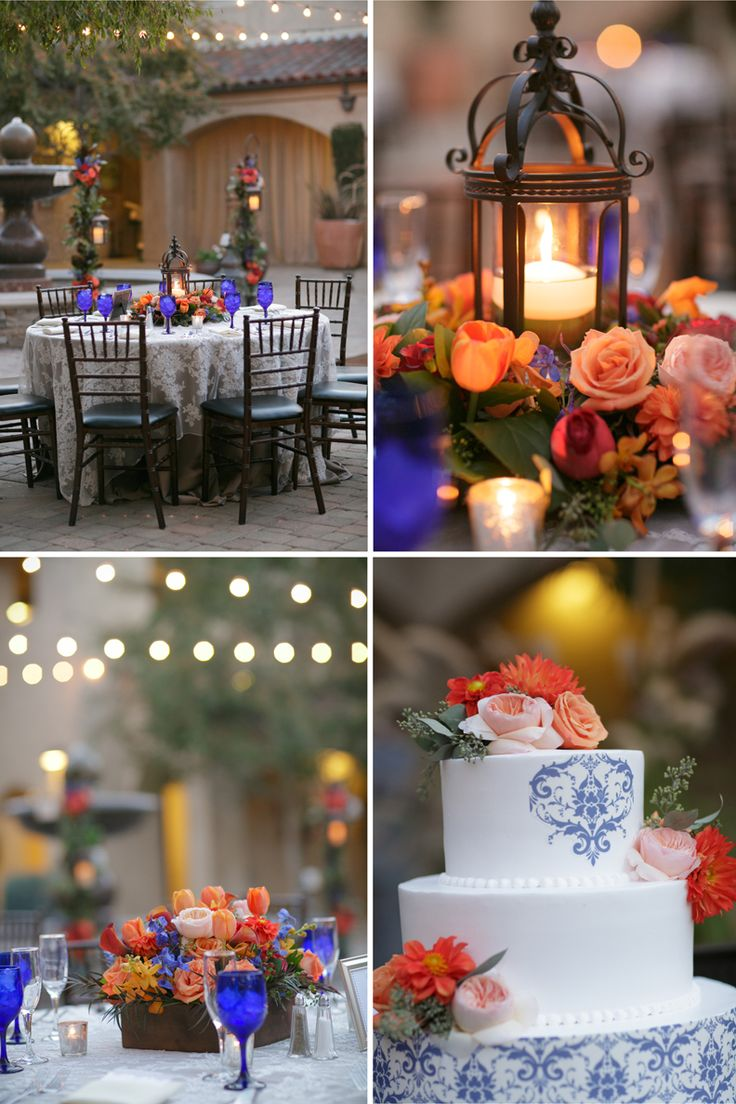 colbalt blue fall wedding BrittRene Photo » lifestyle photographer