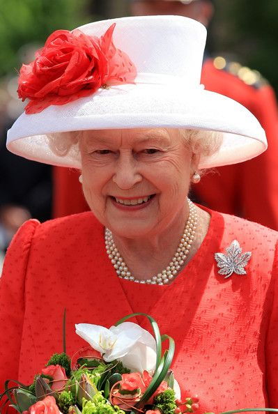 Queen Elizabeth celebrates Canada Day in Ottawa in June 2010