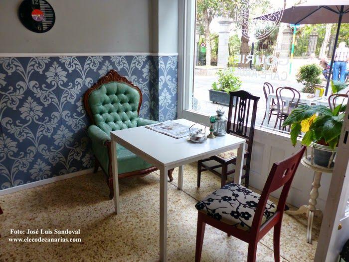 Gourié 3 - Un café con un toque vintage y deliciosas tartas caseras :-).    c/ Francisco Gourié 3, Arucas.  #Freelance