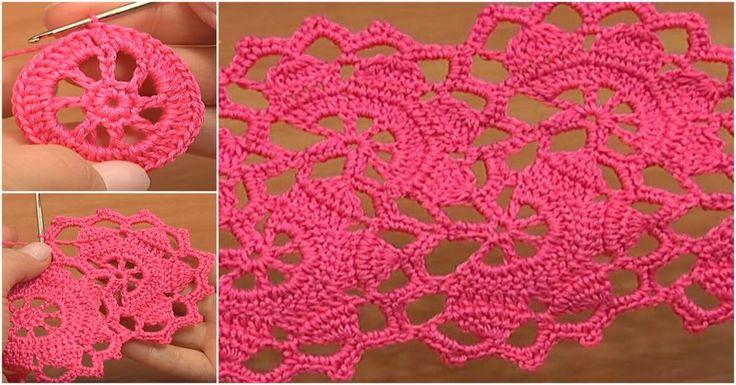 Crochet Wide Lace Tape