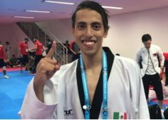 Mexicano al borde de ganar el Mundial de Taekwondo