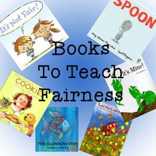 Books to Teach Fairness... WIN WIN