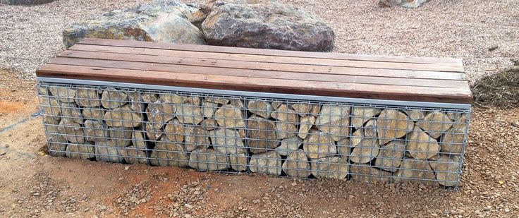 Gabion OutdoorSeat Ideas For Your Next Landscaping Project! - Homeimprovement2day