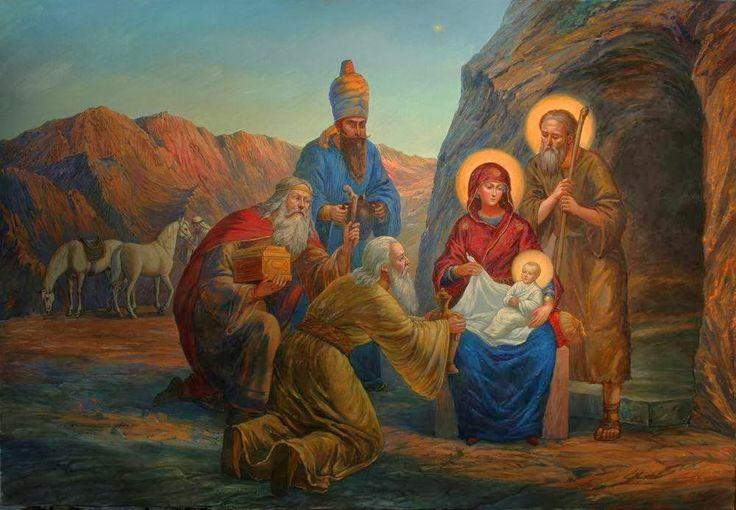 Χριστούγεννα σ' ἕνα παγωμένο κόσμο