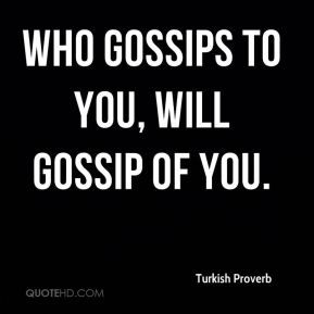 Gossiping quote