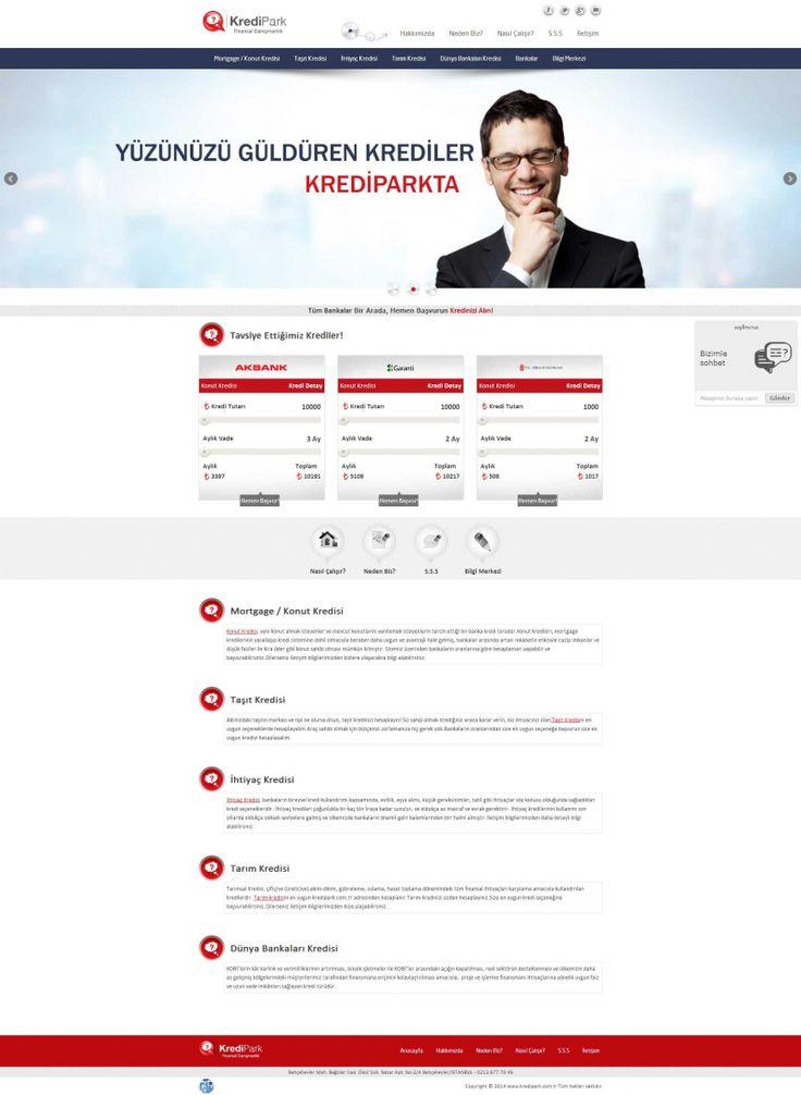 http://www.gustobilisim.com.tr/referanslar Firma: KrediPark Proje: Web Tasarım ve Programlama