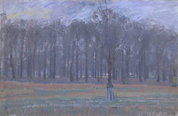 Spencer Gore  Richmond Park c.1914