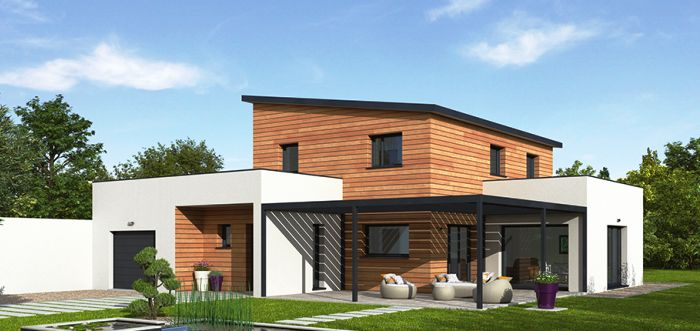 maison ossature bois natigreen bepos natilia 1 maison. Black Bedroom Furniture Sets. Home Design Ideas