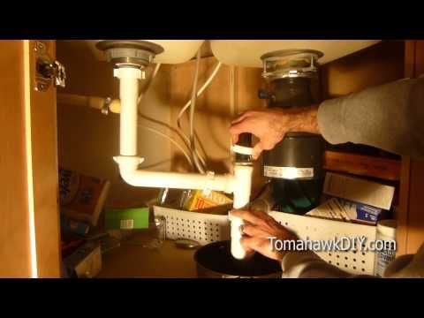 how to fix clogged kitchen sink that wonu0027t drain youtube