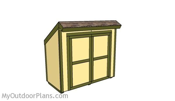 Lean To Storage Shed Plans Outdoor Shed Plans Free