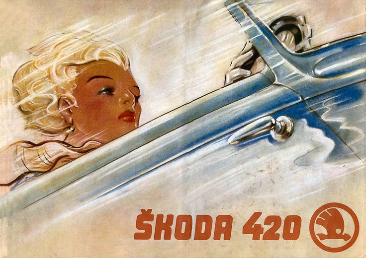 1938. Skoda 420. Brochure