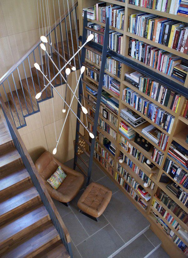 50 Jaw dropping home library design ideas 116