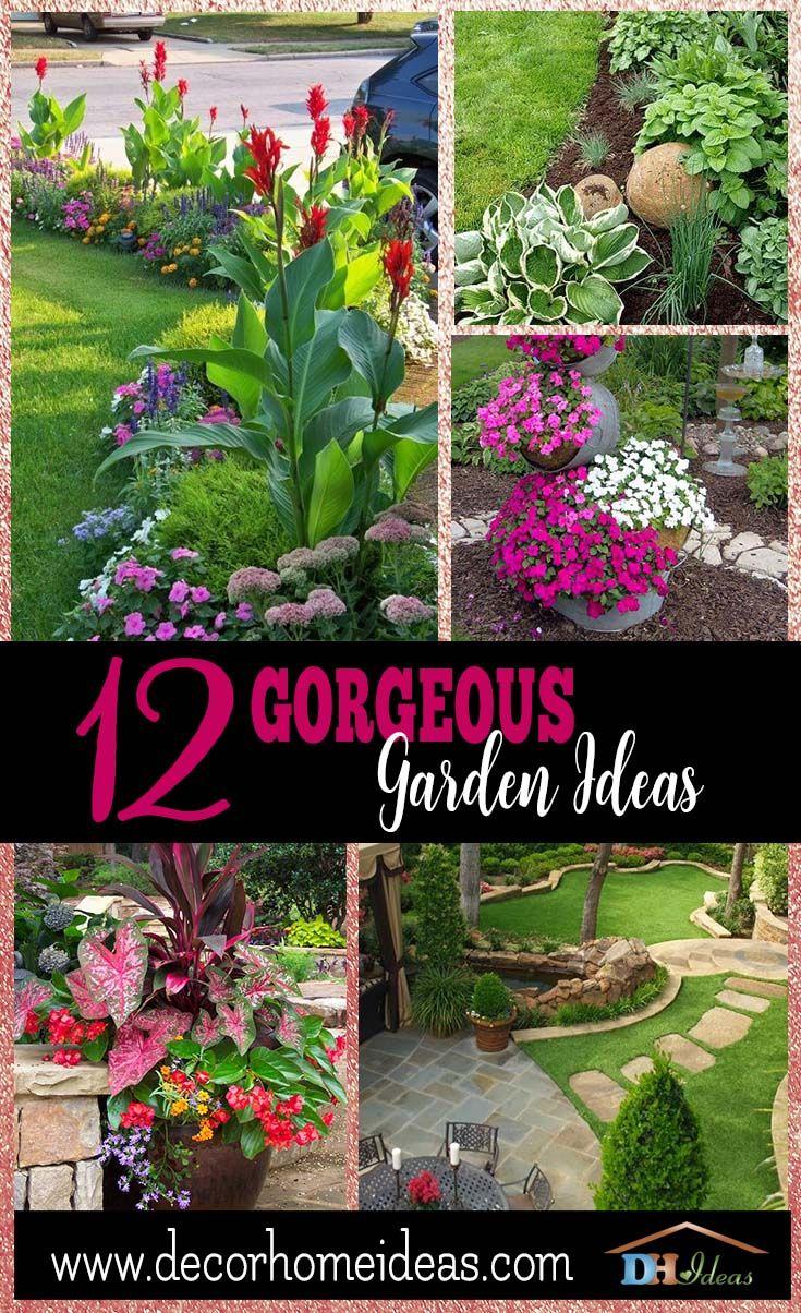 12 Gorgeous Garden Ideas Gorgeous Gardens Front Yard