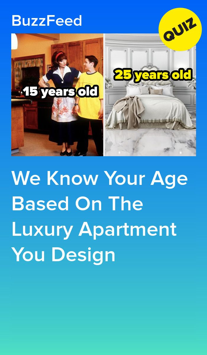 We Know Your Age Based On The Luxury Apartment You Design 26 or
