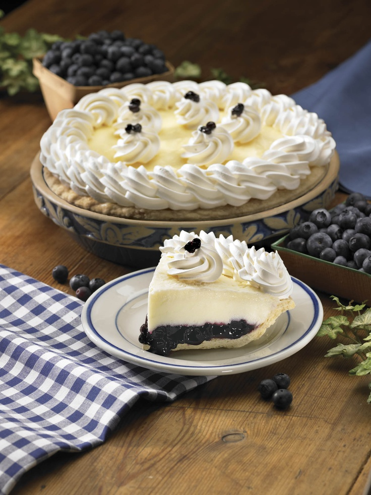 Famous Pies Marie Callender S Restaurant Bakery Blueberry Pie Recipes Cream Pie Recipes Sweet Tarts