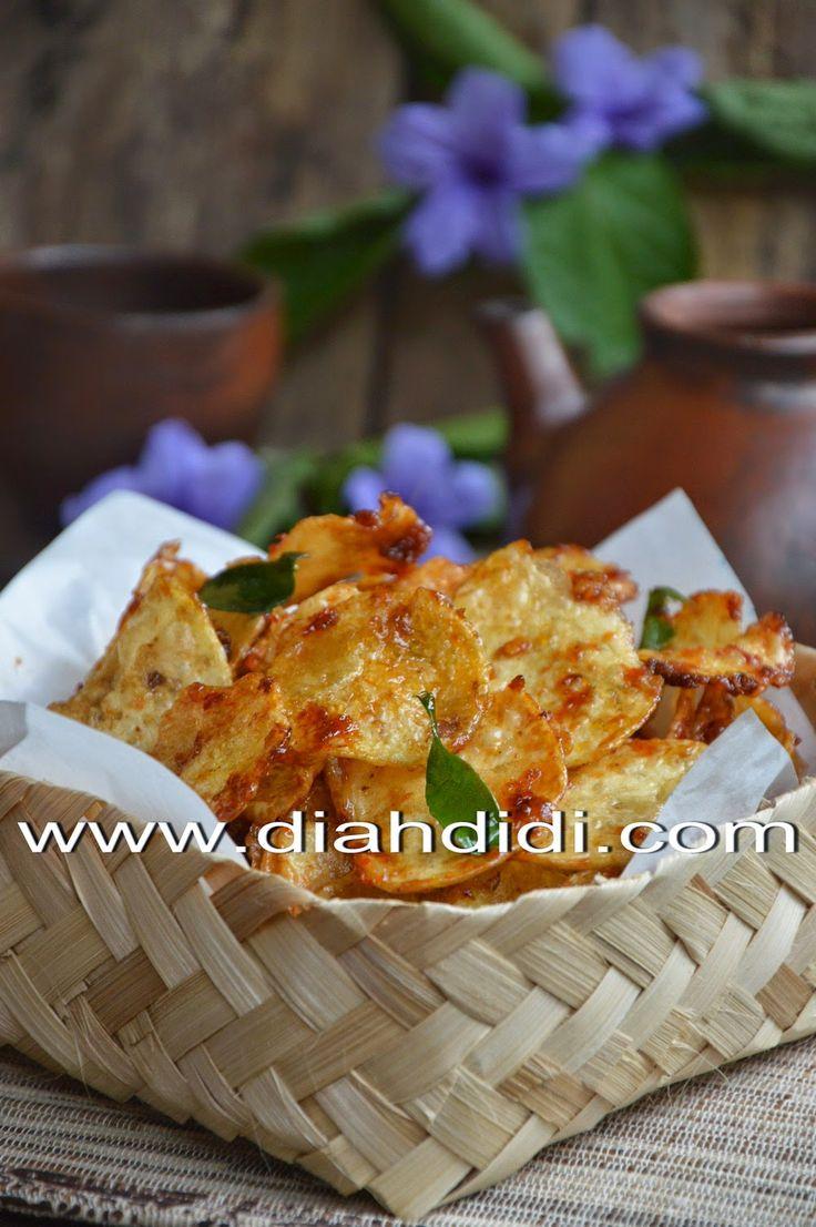 Diah Didi's Kitchen: Kering Kentang Bumbu Ebi