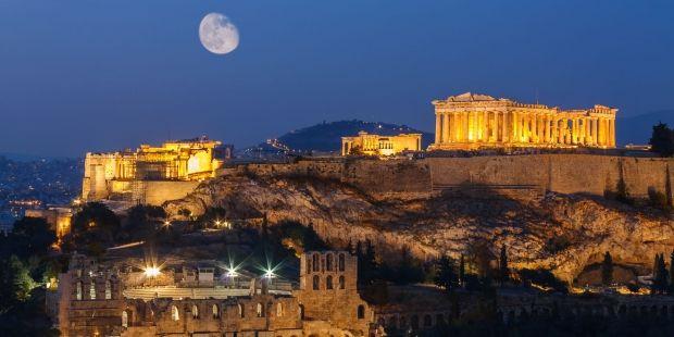 Yunanistan'daki grev turistleri isyan ettirdi