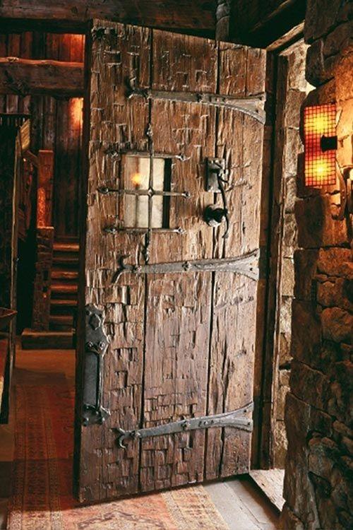 Lone Peak Lookout, Pearson Design Group ~ Almost A Medieval Look To This  Door   Doors Around The World   Pinterest   Doors, Door Design And Doorway