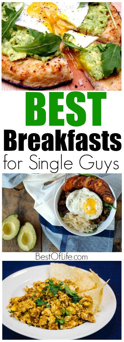 When it comes to being a single guy, breakfast is an afterthought, but that doesn't mean you can't enjoy the best breakfasts for single guys.