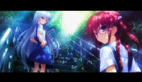 grafika anime, girl, and grisaia no kajitsu