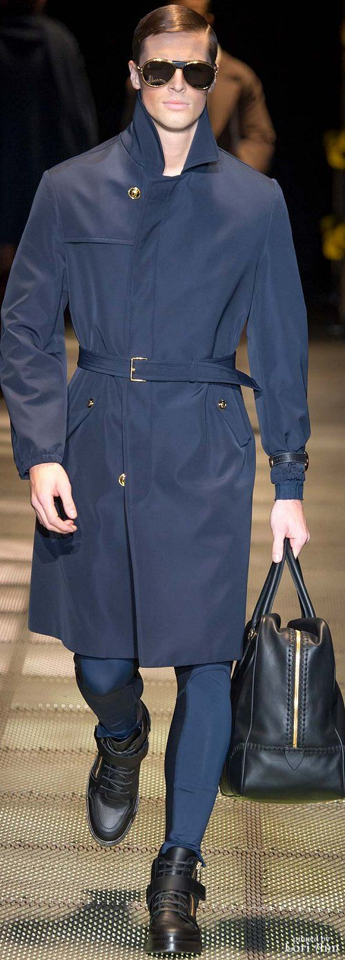 Versace Fall 2015 Menswear