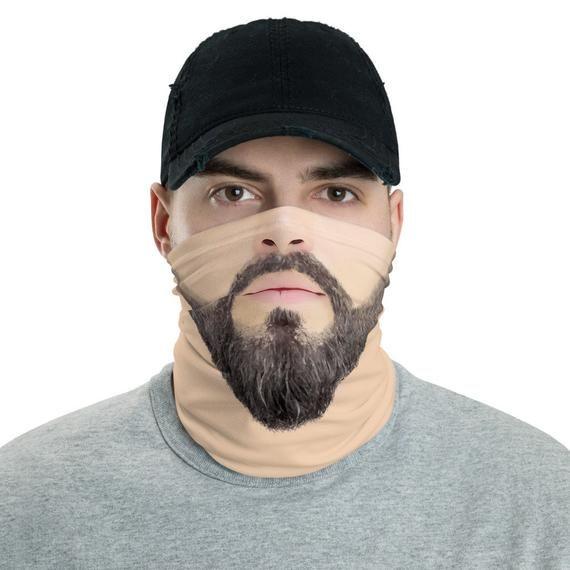 Men Neck Gaiter Neck Gaiter for Men Funny Face Print Mask   Etsy   Mens  face mask, Funny face mask, Fashion face mask