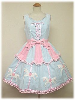 Angelic Pretty / Jumper Skirt / Carnival JSK