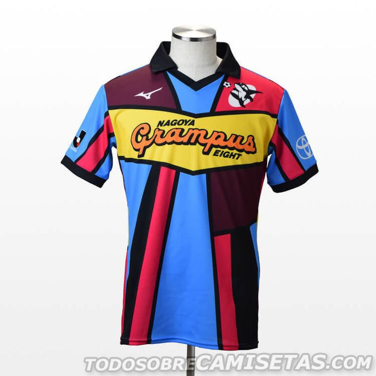 Nagoya Grampus 25th Anniversary Mizuno Kit