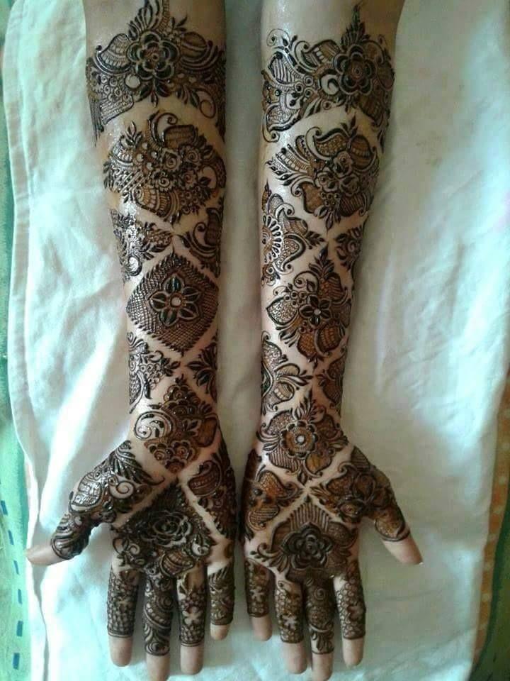 best arabic mehandi designs 2015