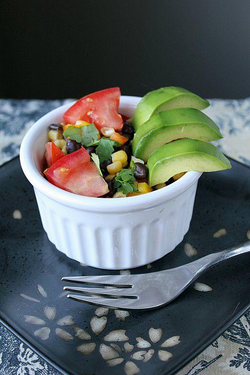 Avocado, Black Bean and Corn Salad: Kitchens, Amazing Salads, Black Beans, Avocado, Corn Salads, Black Bean Corn, Kitchen Magpie, Favorite Recipes