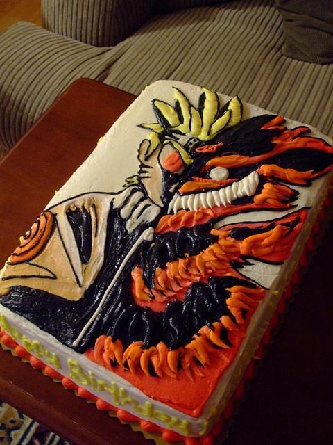 anime cakes Themed Sweets (Anime & Manga) Examples ...