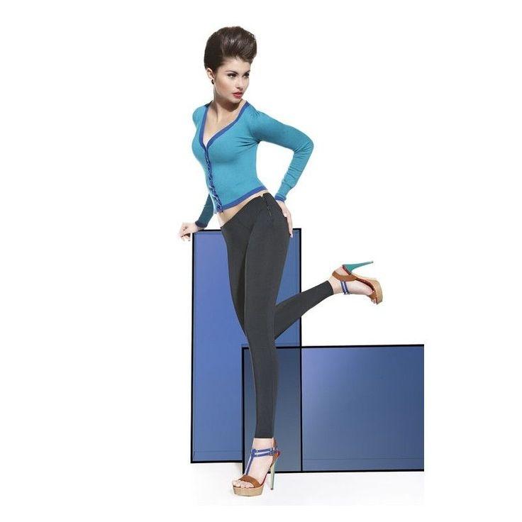 Legging souple pantalon moulant BAS BLEU ALICE taille 2 - 3 - 4 neuf