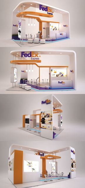School Exhibition Stall Design : Open layout; non hanging lighting architecture exhibition booth