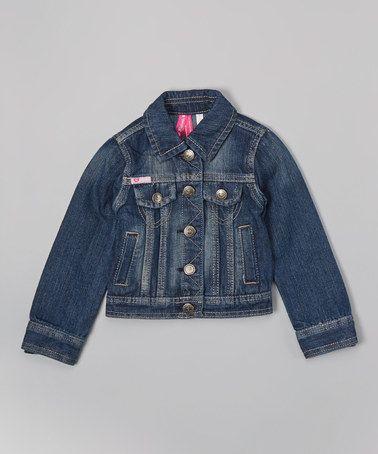 Look what I found on #zulily! Dark Denim Jacket #zulilyfinds