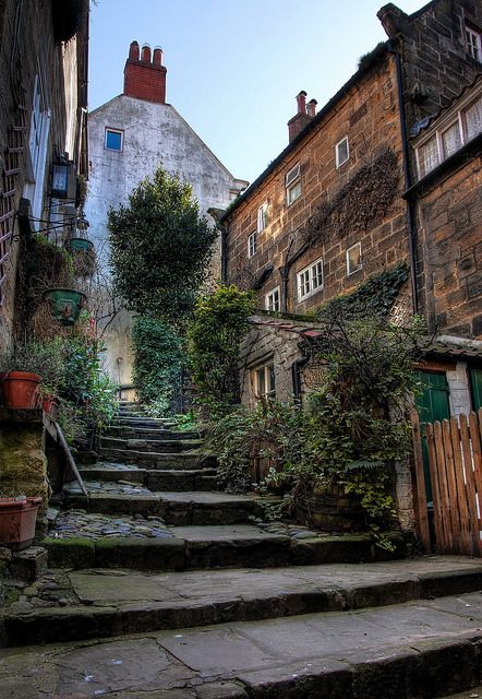 Robin Hoods Bay , Yorkshire by oddlegs on Flickr.i love this place use to go as a kid