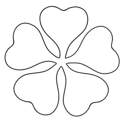 printable flower template cut out - ClipArt Best - ClipArt Best