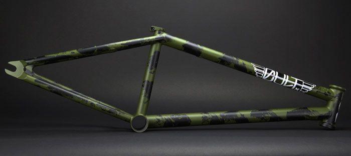Cult - Dakota Roche signature Dak V3 Frame - BMX Details: http://bmxunion.com/daily/product-cult-dak-v3-bmx-frame/ #bmx #bike #bicycle #frame #design #style #paint #color