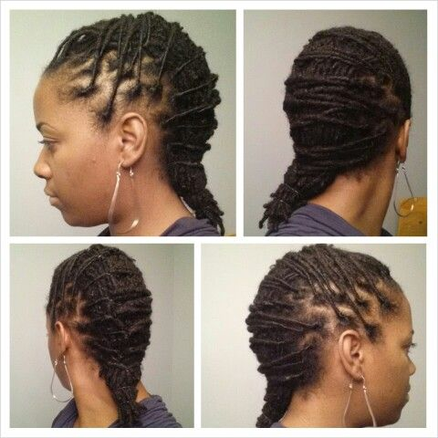 Super 1000 Images About Loc Styles On Pinterest Updo Black Women Short Hairstyles Gunalazisus