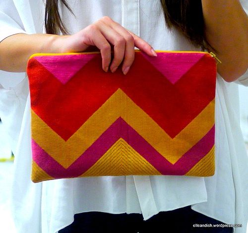 DIY Chevron projects - 10 Awesome Ideas & Tutorials