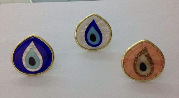 Evil Eye Rings!! Make your own style!!