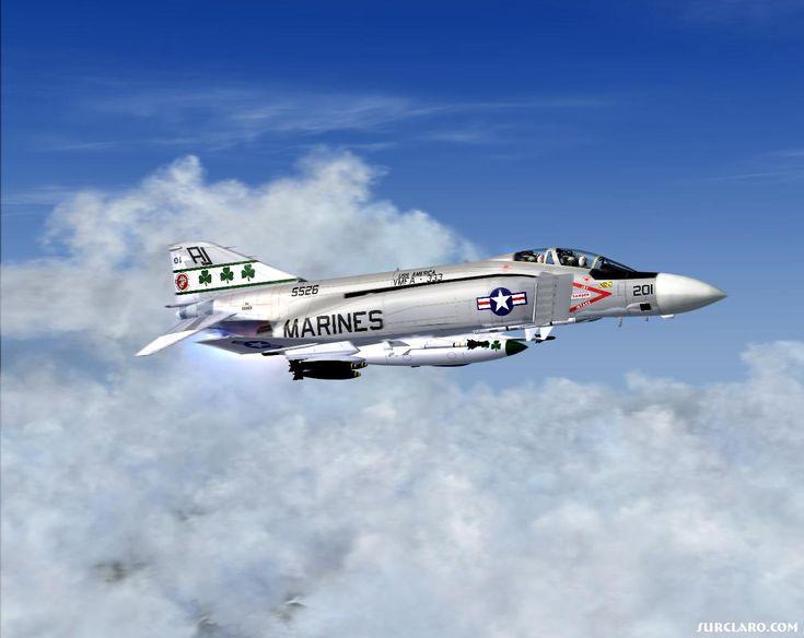 F-4 phantom VMFA 333. USS America