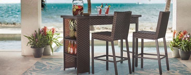 Outdoor Bar Furniture - Patio Bars - The Home Depot